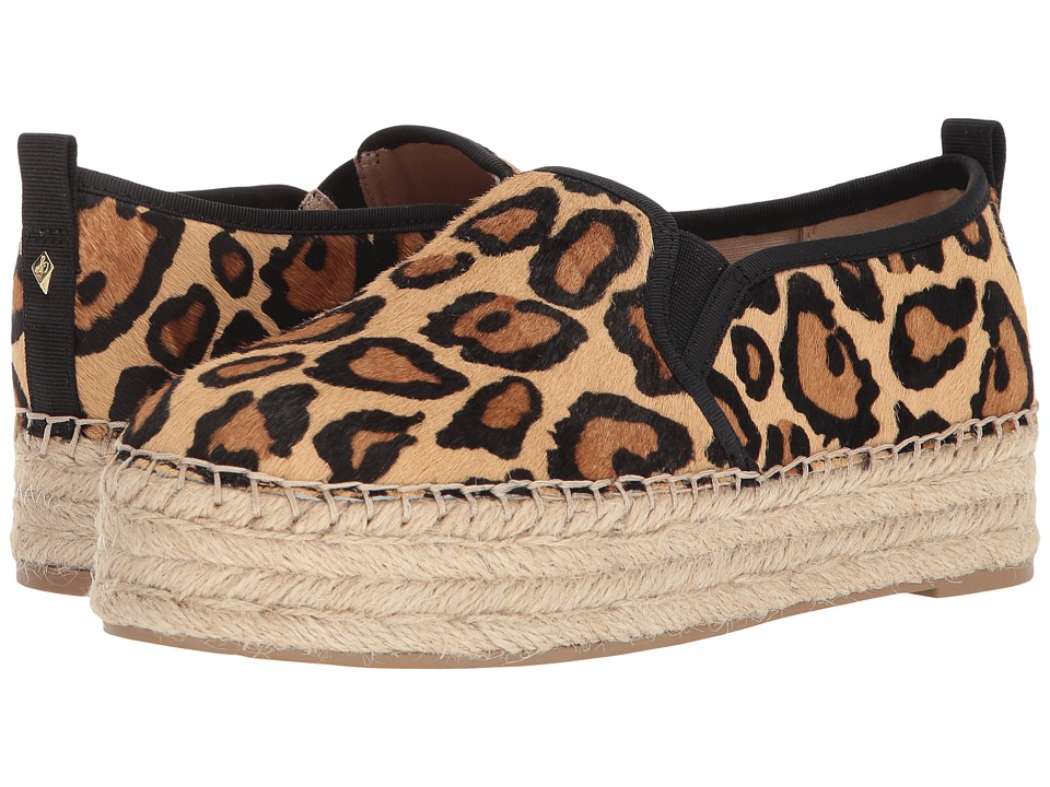 Sam Edelman Carrin (New Nude Leopard Special Leopard Brahma Hair) Slip-On Shoes