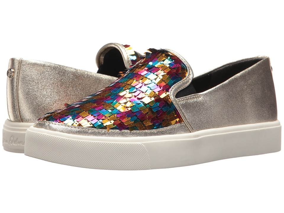Sam Edelman - Elton (Bright Multi/Jute Pinata Sequins) Womens Shoes
