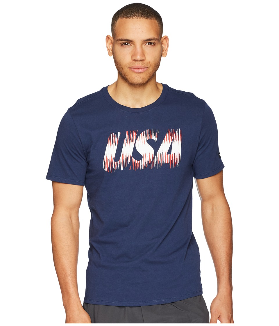 Nike USA Tee Pride (Midnight Navy) Men