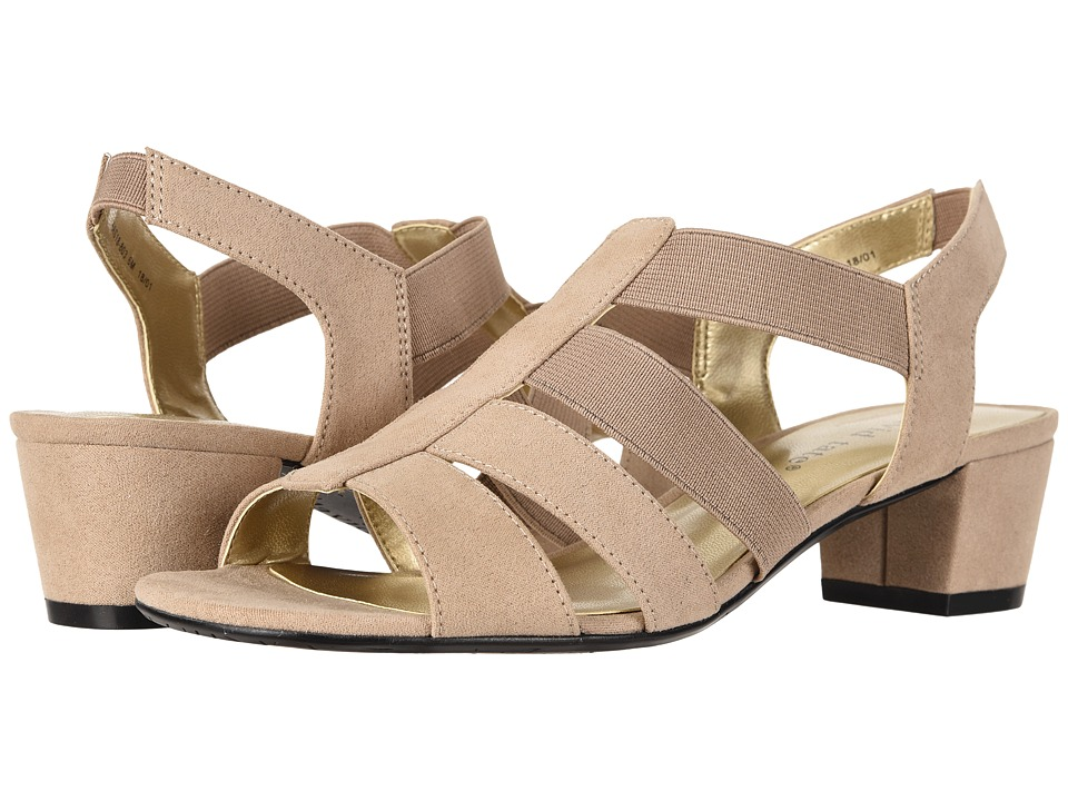 David Tate - Delight (Taupe Nova Suede) Womens  Shoes