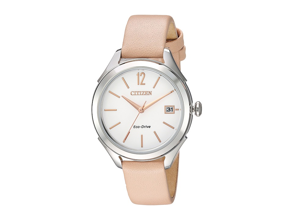 Citizen Watches - FE6140-03A Eco-Drive (Blush Pink) Watches