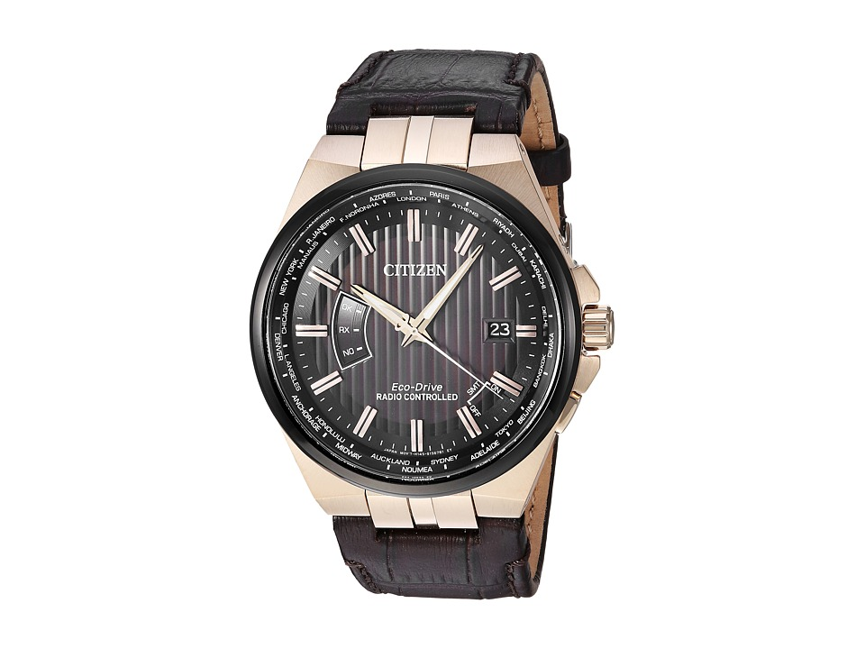 Citizen Watches - CB0168-08E Eco-Drive (Brown) Watches