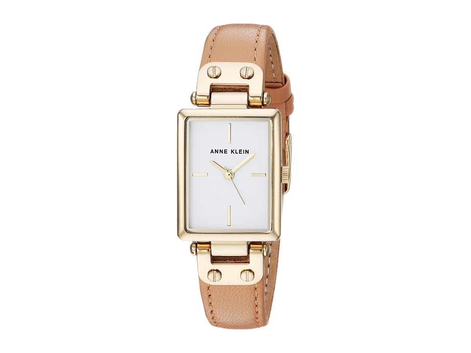 Anne Klein - AK-3204WTPE (Peach/Gold/Tone) Watches