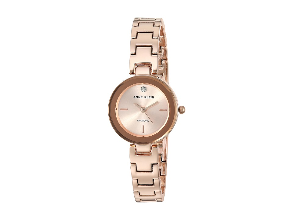 Anne Klein - AK-3150RGRG (Rose Gold/Tone) Watches