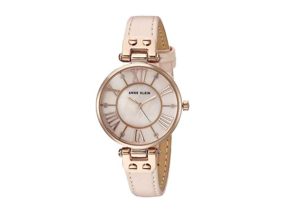 Anne Klein - AK-2718RGPK (Pink/Rose Gold/Tone) Watches