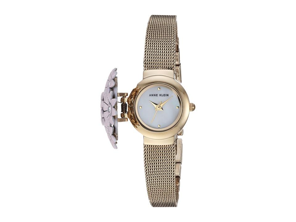 Anne Klein - AK-3176PKCV (Pink/Gold/Tone) Watches