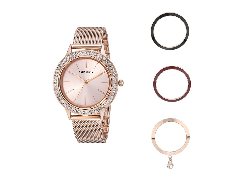 Anne Klein - AK-3166INST (Rose Gold/Tone) Watches