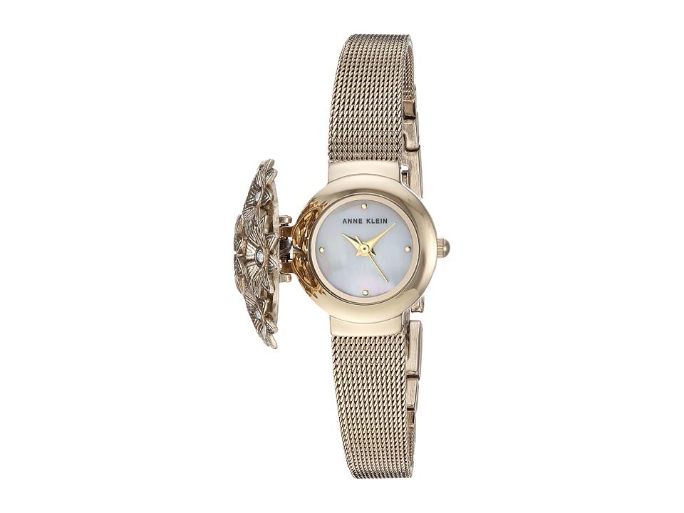 Anne Klein - AK-3176GPCV (Gold/Tone) Watches