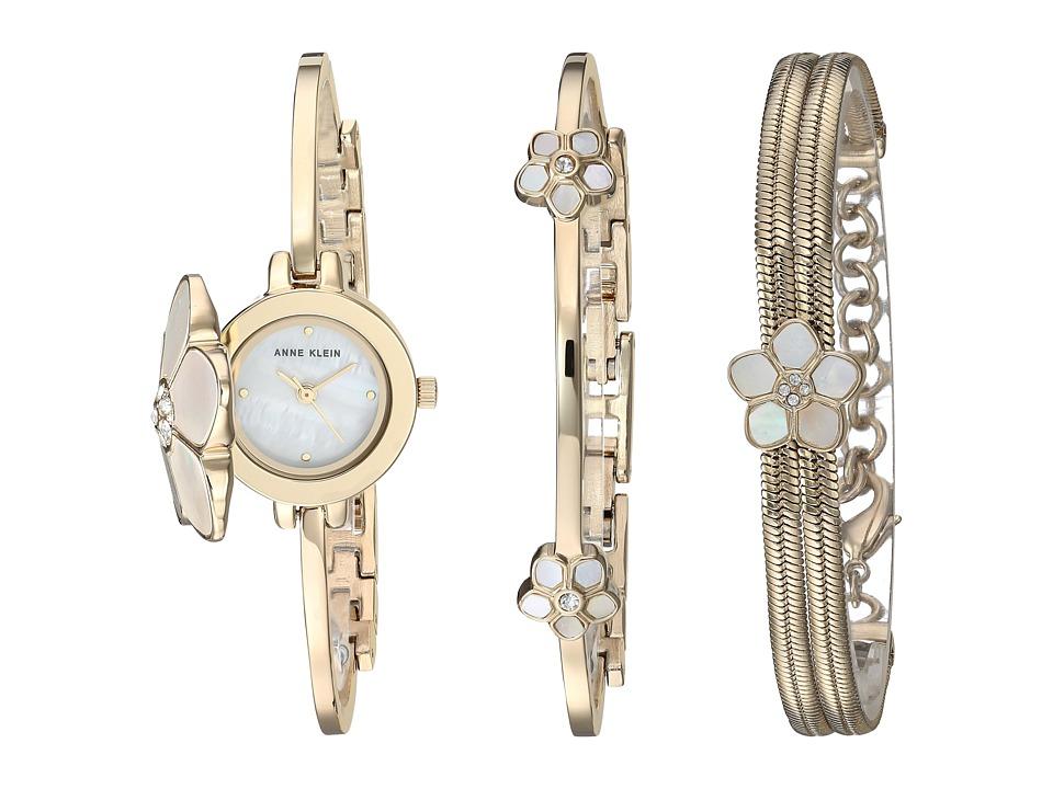 Anne Klein AK-3174GBST (Gold/Tone) Watches