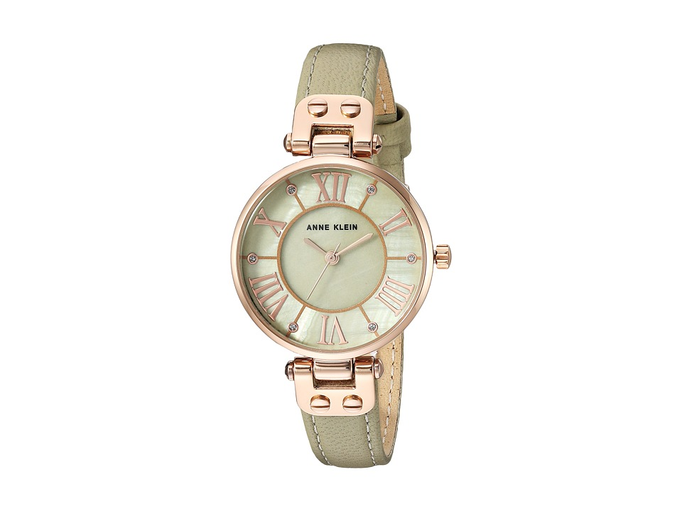 Anne Klein - AK-2718RGSA (Sage/Rose Gold/Tone) Watches