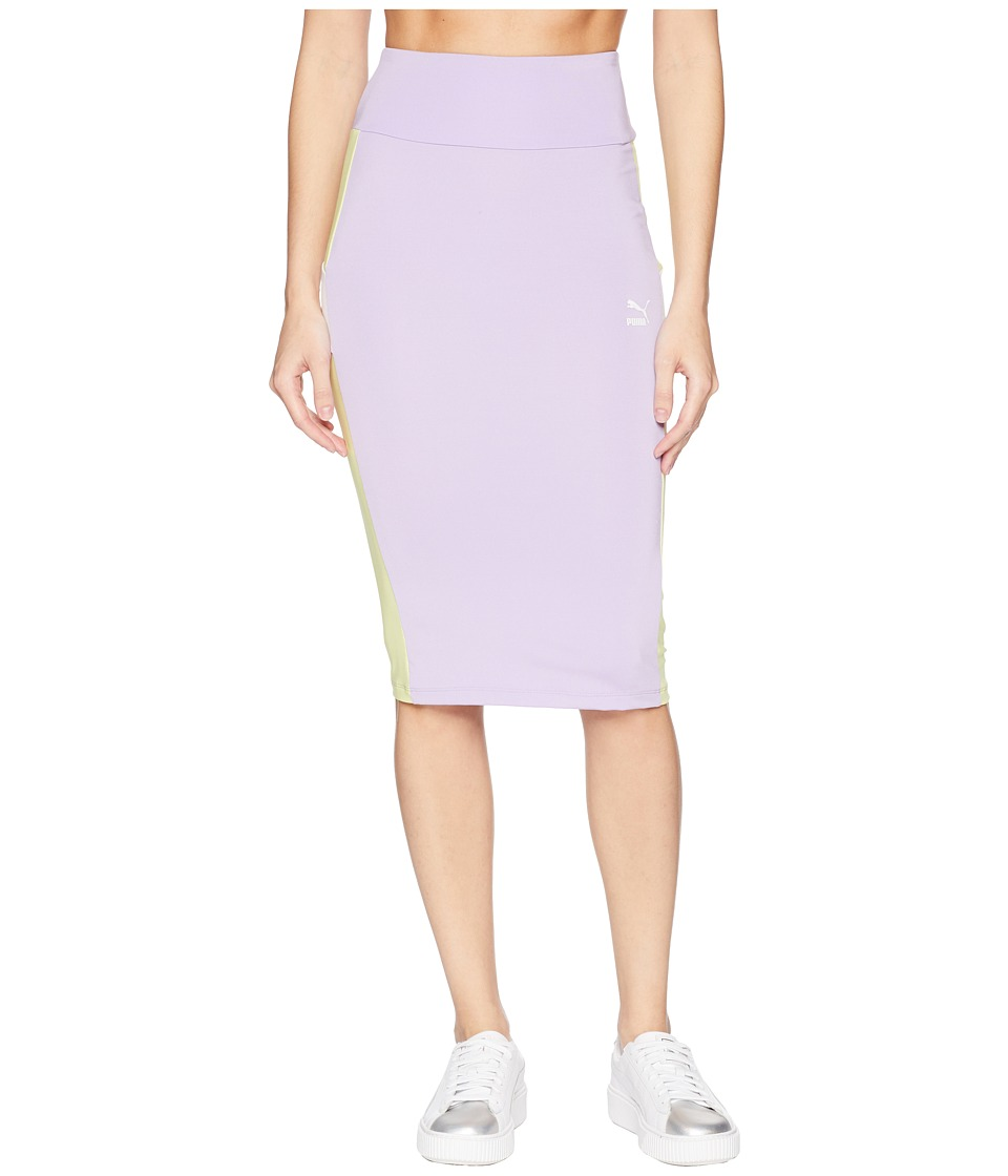 PUMA Pencil Skirt (Purple Rose) Women