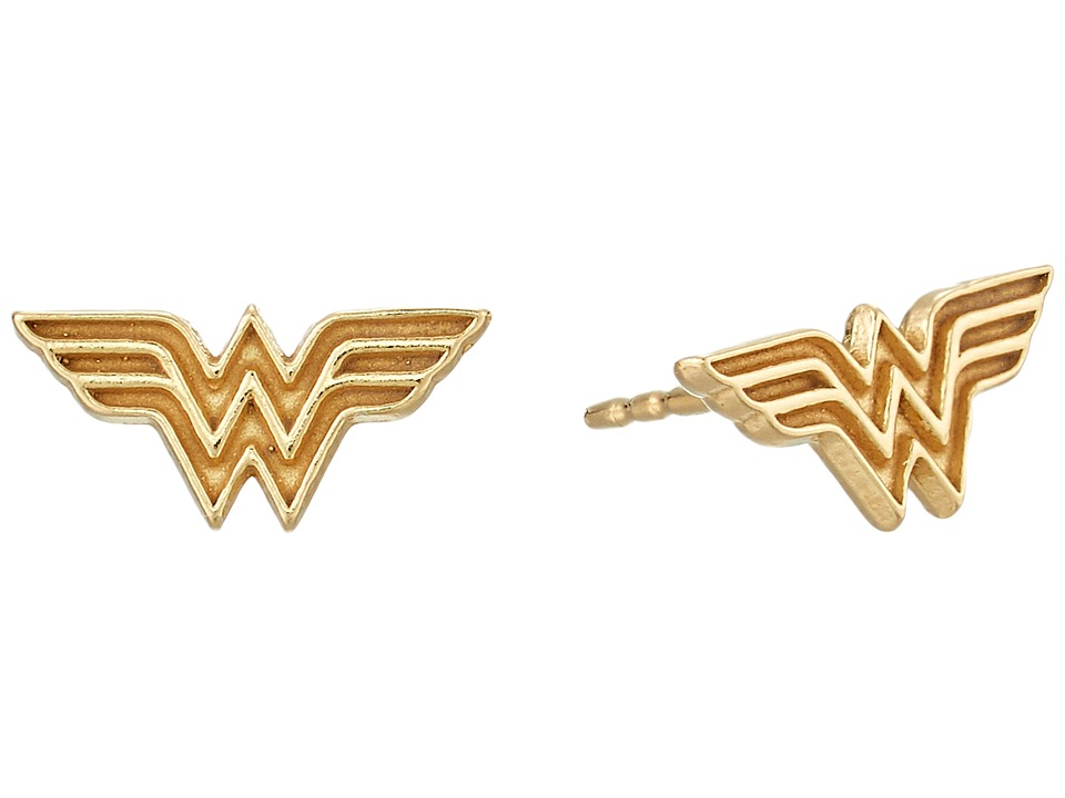 Alex and Ani - Wonder Woman Earrings
