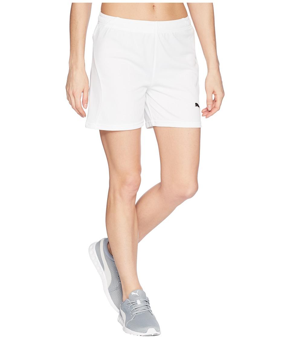 PUMA - Liga Shorts (Puma White/Puma White) Womens Shorts