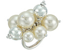 Chan Luu Base Metal Ring with Cluster Pearls