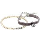 Chan Luu Velvet Adjustable and Pearl Stretch Bracelets