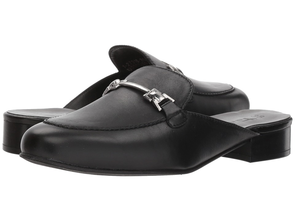 Tamaris Mary 1-1-27316-20 (Black Leather) Women