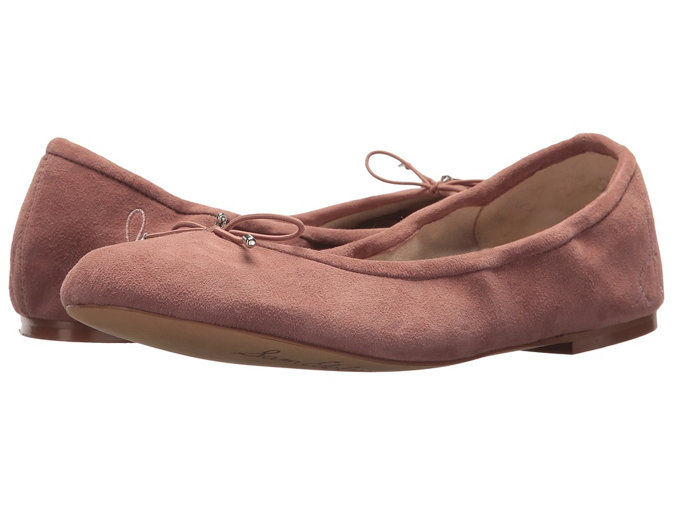 Sam Edelman Felicia (Dusty Rose Kid Suede Leather) Flats