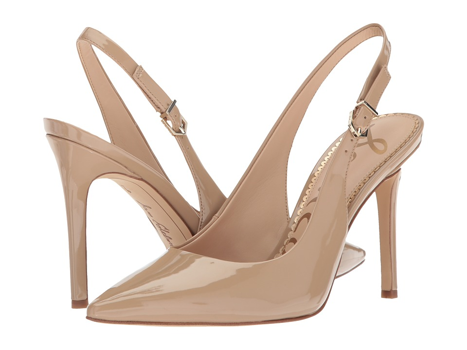 Sam Edelman Hastings (Classic Nude Patent) Women's Shoes