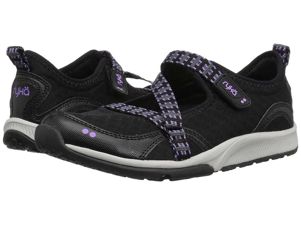 Ryka Kailee (Black/Purple Ice/Summer Grey) Women's Shoes