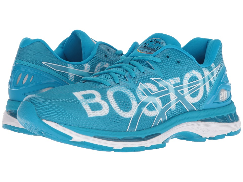 Asics GEL-Nimbus(r) 20 Boston (Boston/2018/Blue) Men's Ru...