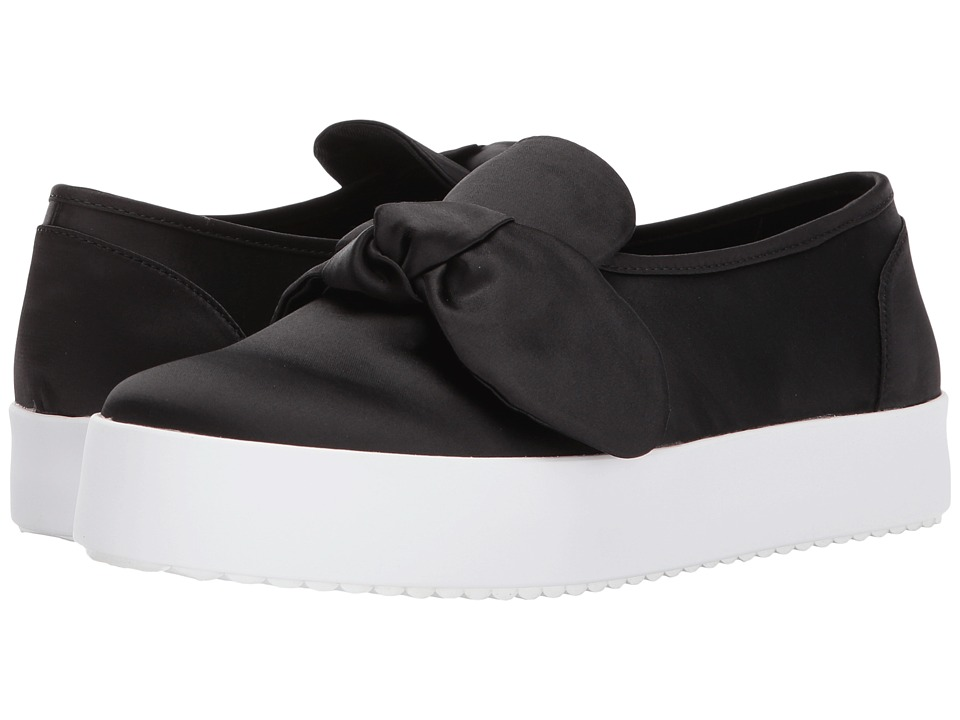 Rebecca Minkoff - Stacey Sneaker (Black) Womens Slip on  Shoes