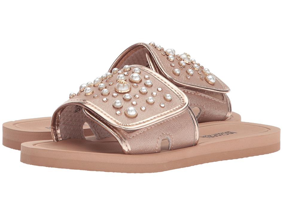 MICHAEL Michael Kors Kids - Eli Grand (Little Kid/Big Kid) (Rose Gold) Girls Shoes