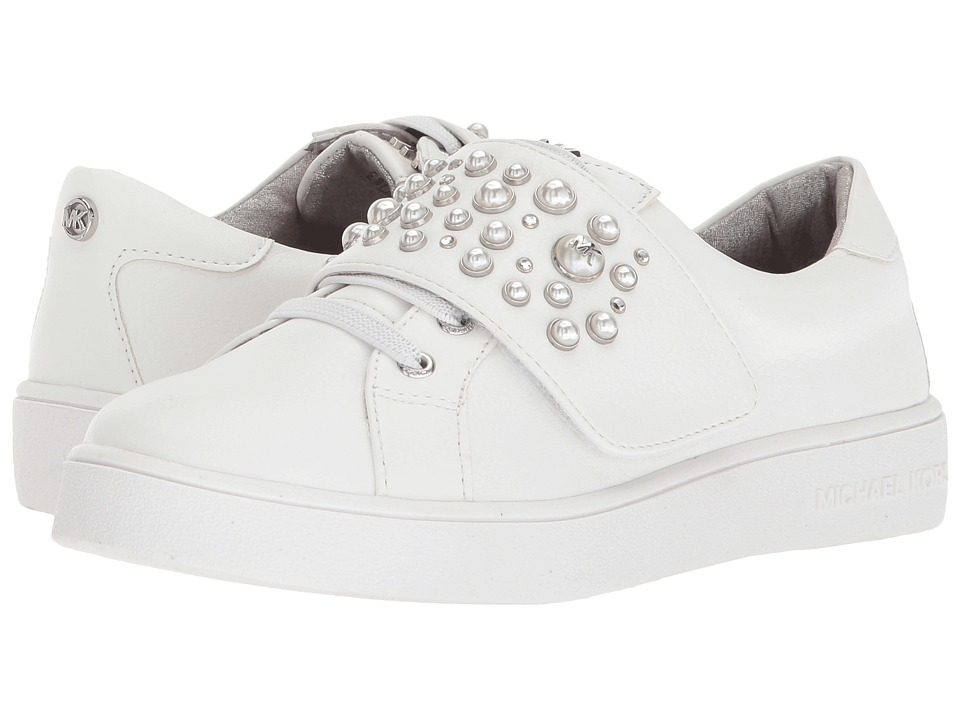 MICHAEL Michael Kors Kids - Ivy Chic (Little Kid/Big Kid) (White) Girls Shoes