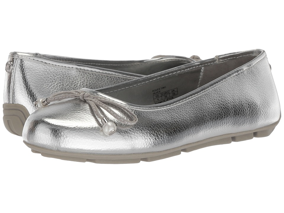 MICHAEL Michael Kors Kids - Rover Ting (Little Kid/Big Kid) (Silver) Girls Shoes