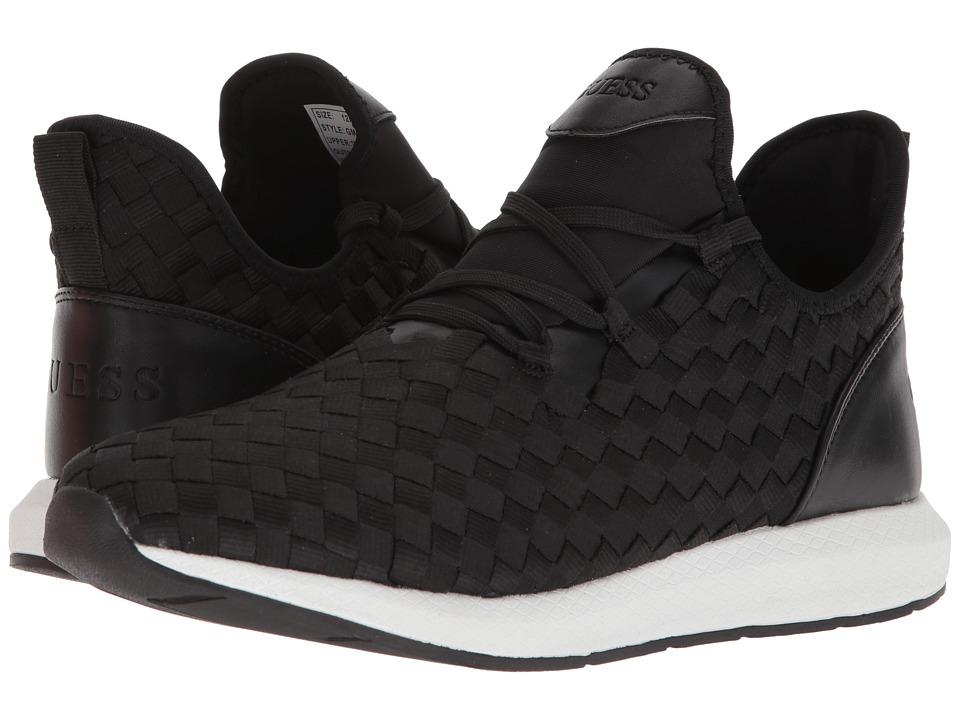 GUESS - Zella (Black Knit) Mens Shoes