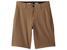O'Neill Kids Loaded Solid Hybrid Shorts (Big Kids)