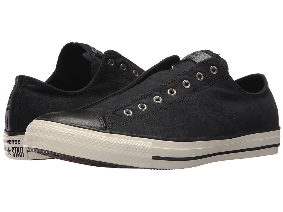 Converse - CTAS Slip (Black/Black/Egret) Shoes