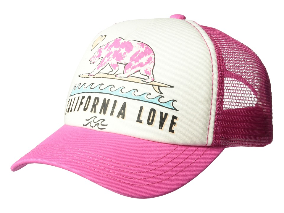 Billabong Kids Pitstop (Little Kids/Big Kids) (Tahiti Pink) Caps