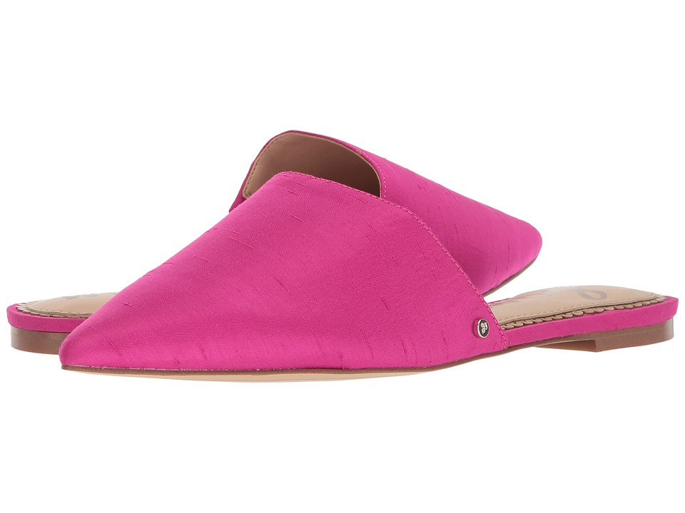 Sam Edelman Rumi (Pink Magenta Silk Dupioni) Women's Clog...