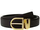 Calvin Klein 32mm Pebble To Smooth Leather Reversible Strap Belt