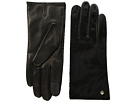 Cole Haan Haircalf Black Gloves