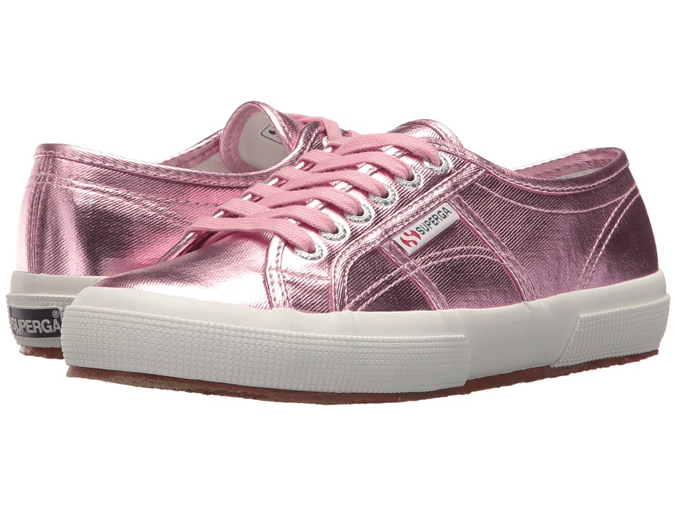 Superga - 2750 COTMETU Sneaker (Pink) Womens Lace up casual Shoes