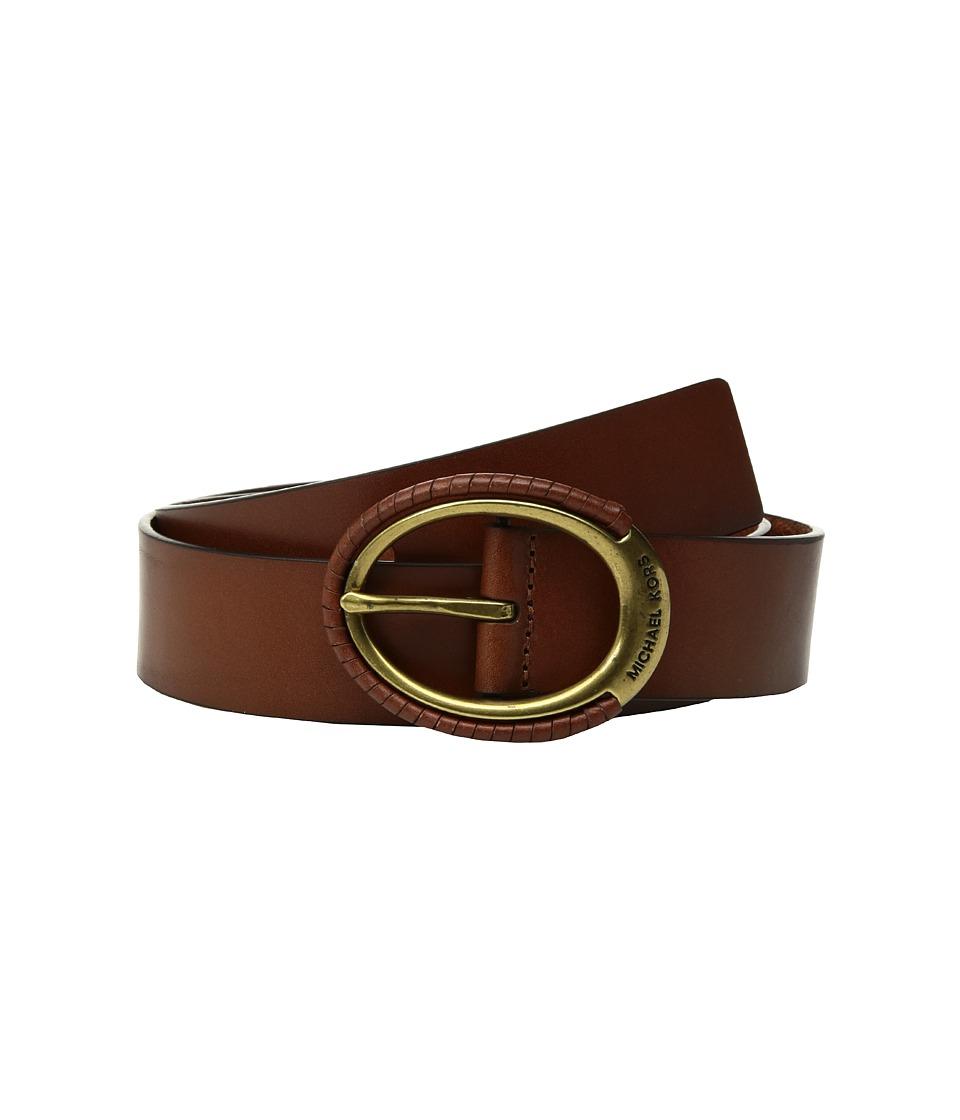 MICHAEL Michael Kors 38mm Belt w/ Wrapped Buckle (Acorn) Women