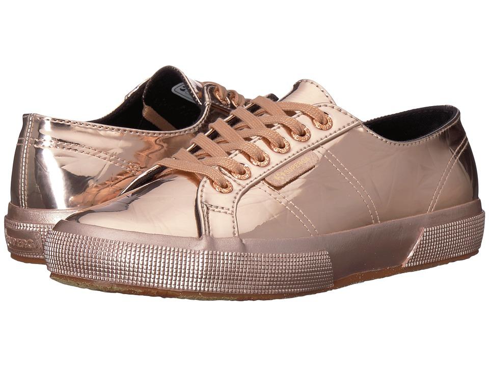 Superga - 2750 Synleadiamondmirrorw Sneaker (Rose Gold) Womens Shoes