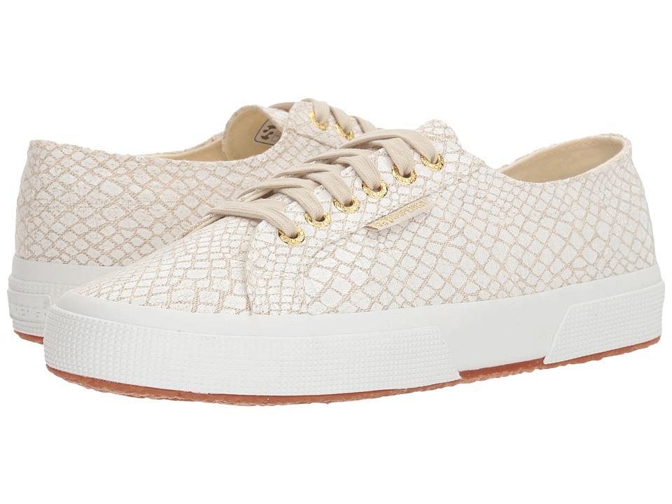 Superga - 2750 Fantasycotlinenw Sneaker (White Multi) Womens Shoes