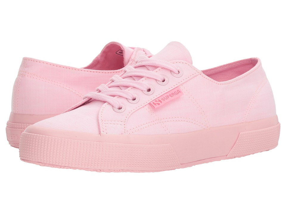 Superga - 2750 Cottonmelangeu Sneaker (Pink) Womens Shoes