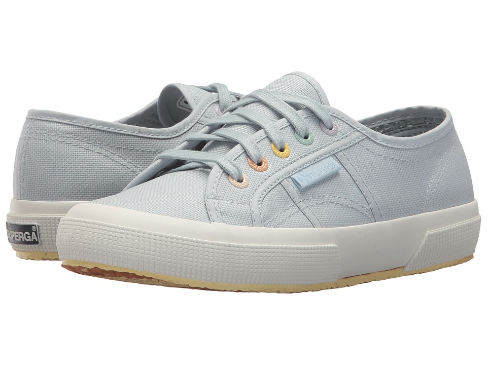 Superga - 2750 Coloreycotw Sneaker (Dusty Blue) Womens Lace up casual Shoes