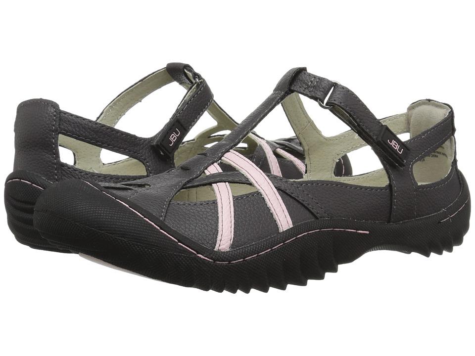 JBU Dune Encore (Charcoal/Pink) Women's Shoes