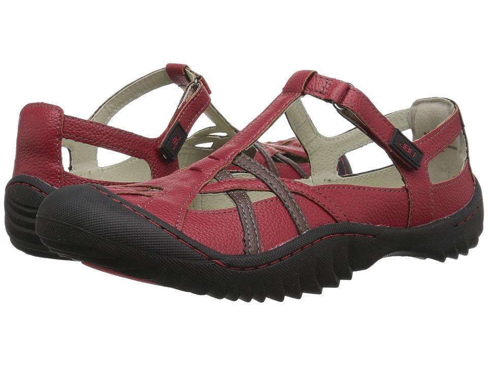 JBU Dune Encore (Red) Women's Shoes