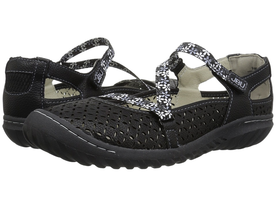 JBU Karen (Black) Women's Shoes