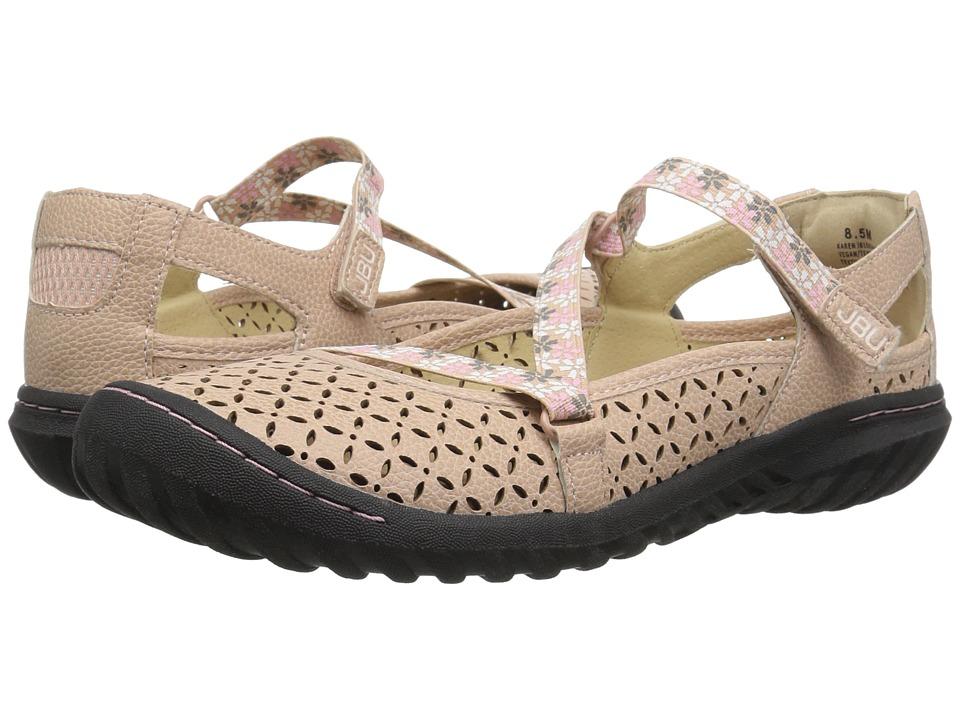 JBU Karen (Blush) Women's Shoes