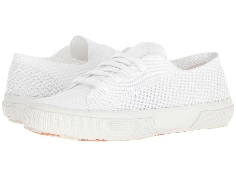 Superga - 2750 Sportknitw (White) Womens Shoes