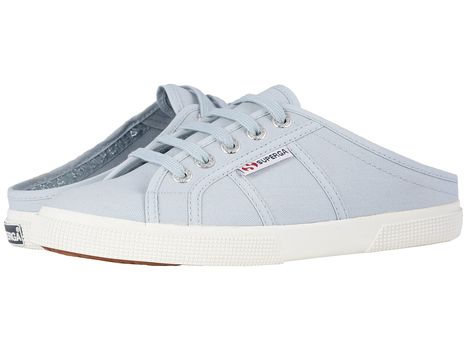 Superga - 2288 Vcotw Sneaker Mule (Dusty Blue) Womens Lace up casual Shoes