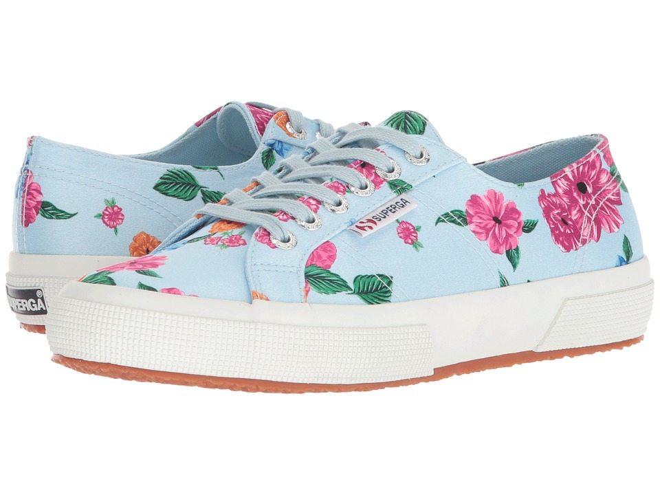 Superga - 2750 Camfloralw Sneaker (Light Blue) Womens Shoes