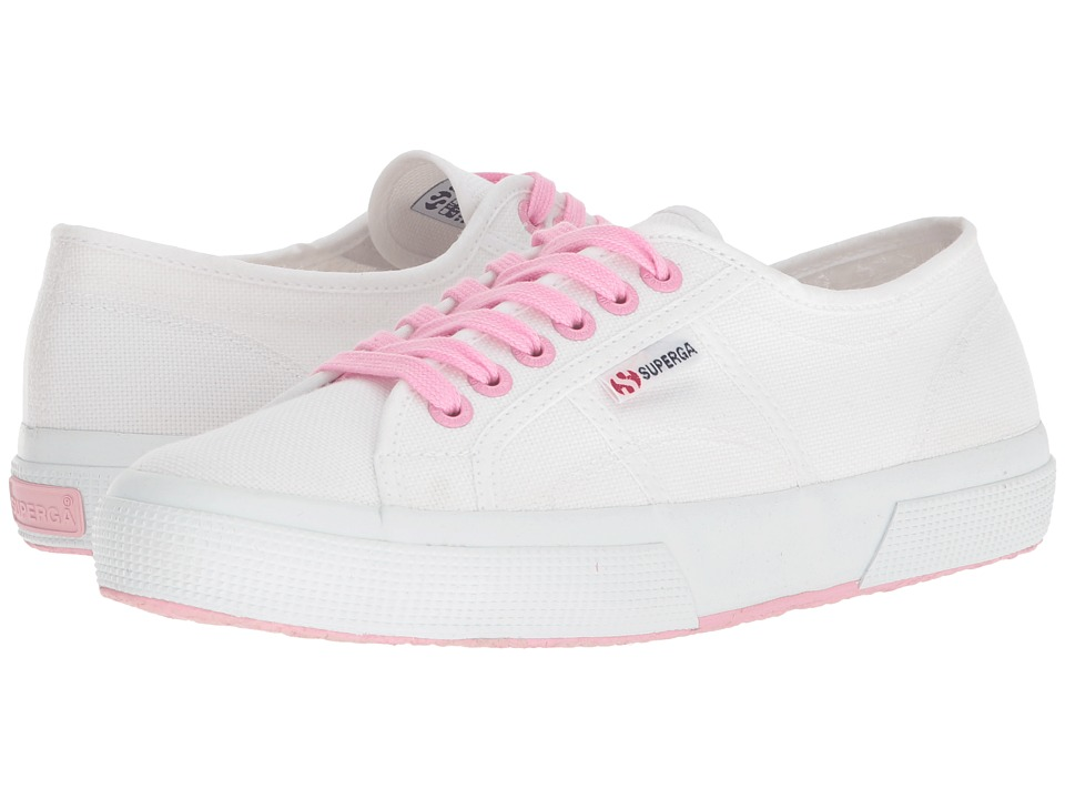 Superga - 2750 COTU Classic Sneaker (Pink Multi) Womens Lace up casual Shoes