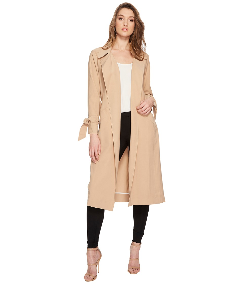 Image of 1.STATE - Belted Trench Coat (Classic Camel) Women's Coat